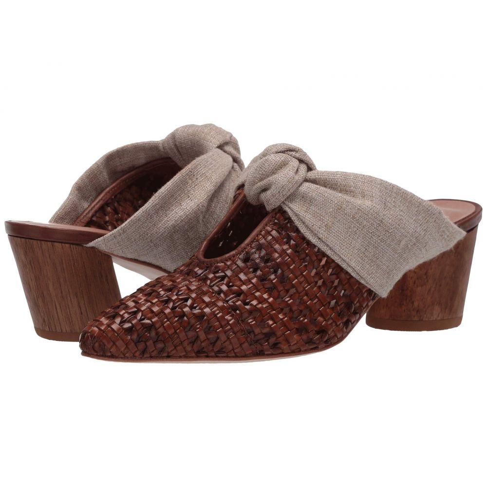 ベルナルド Bernardo レディース パンプス シューズ・靴【Finley】Luggage Woven/Natural Linen