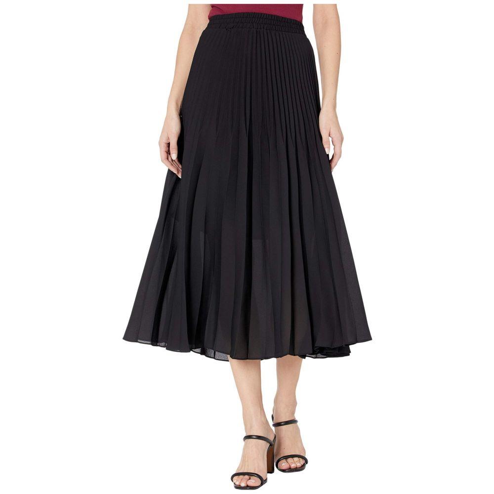 マックススタジオ MAXSTUDIO レディース スカート 【Pleated Skirt】Black