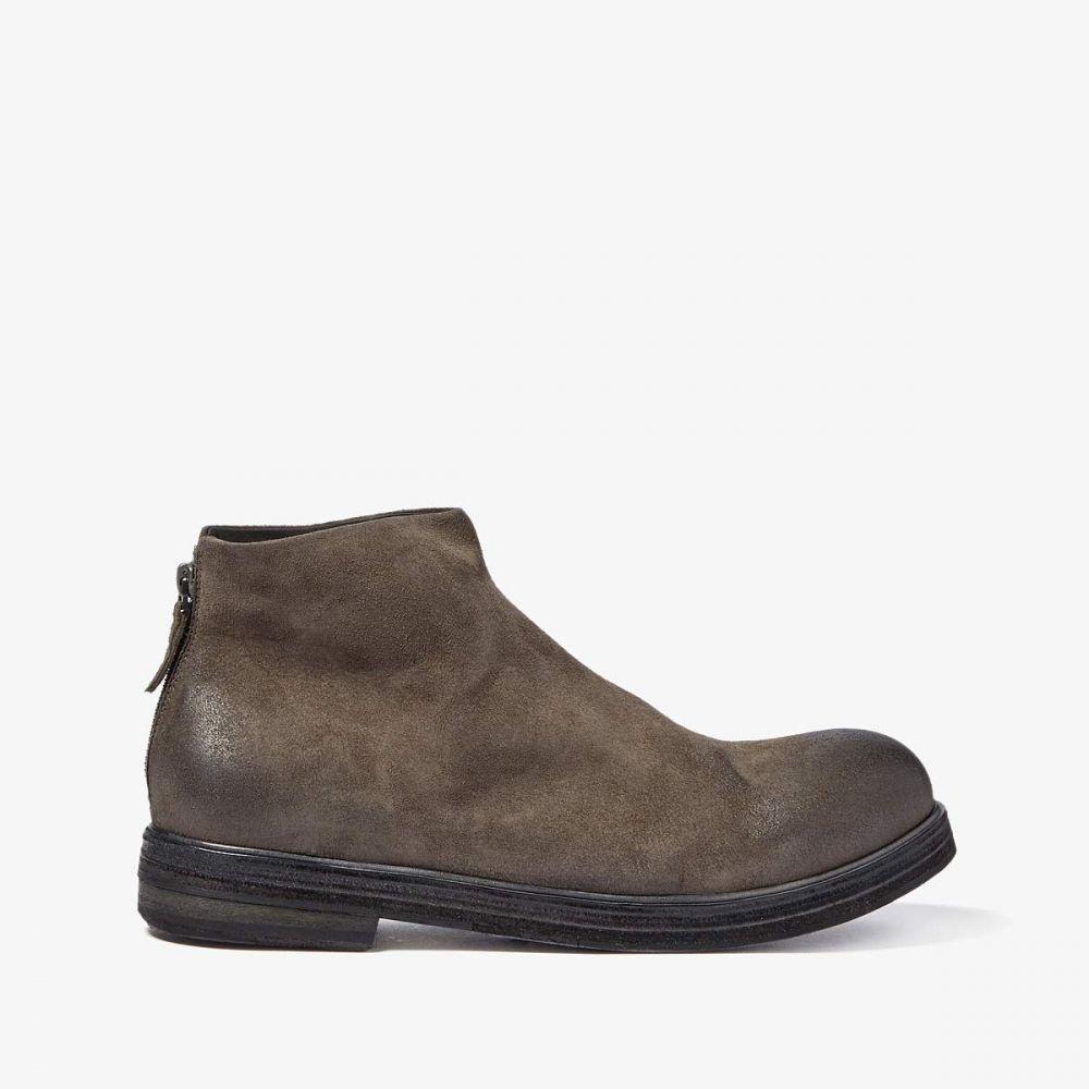 マルセル Marsell メンズ ブーツ シューズ・靴【Classic Back-Zip Boot】Grey Suede