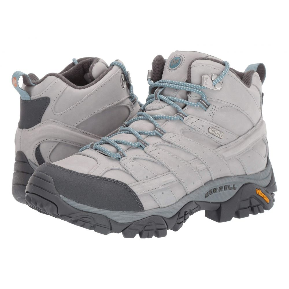 メレル Merrell レディース ハイキング・登山 シューズ・靴【Moab 2 Prime Mid Waterproof】Glacier
