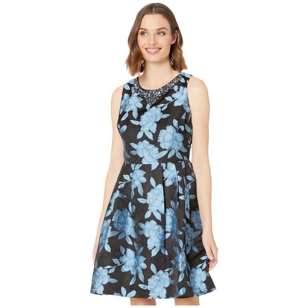 マリナ MARINA レディース パーティードレス ワンピース・ドレス【Jacquard Party Dress】Blue