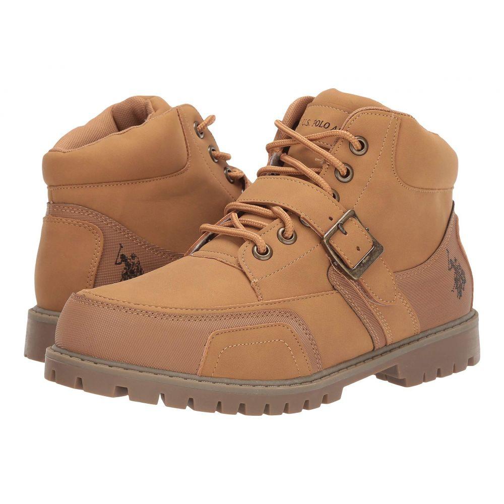 ユーエスポロアッスン U.S. POLO ASSN. メンズ ブーツ シューズ・靴【Andes-Pmn】Wheat/Wheat