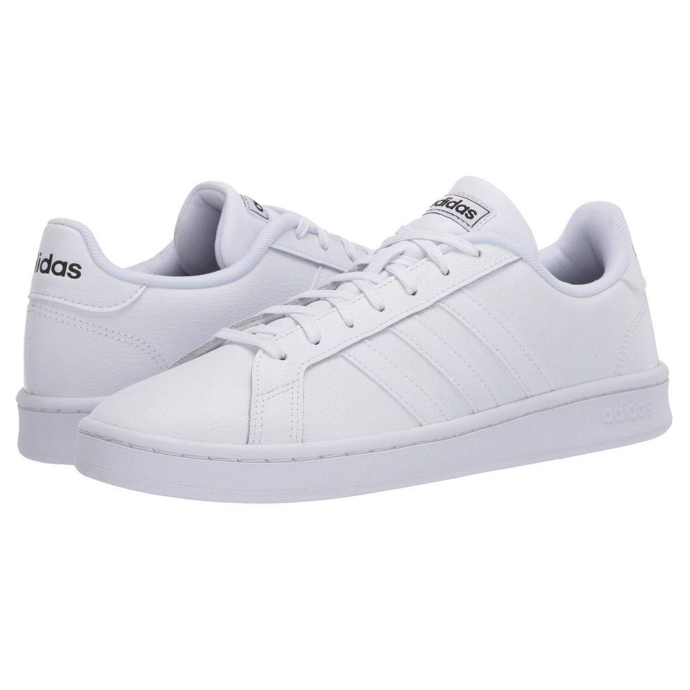 アディダス adidas メンズ スニーカー シューズ・靴【Grand Court】Footwear White/Footwear White/Core Black