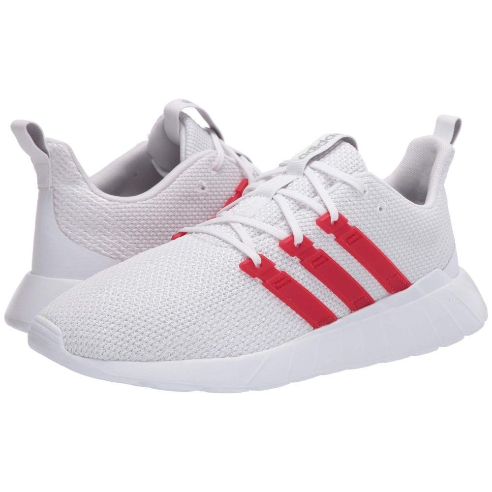 アディダス adidas メンズ スニーカー シューズ・靴【Questar Flow】Footwear White/Scarlet/Grey Two