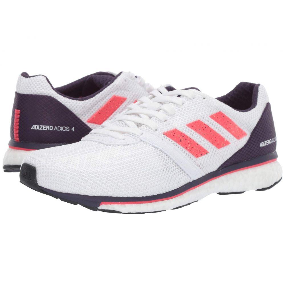 アディダス adidas Running レディース ランニング・ウォーキング シューズ・靴【Adizero Adios 4】White/Shock Red/Legend Purple