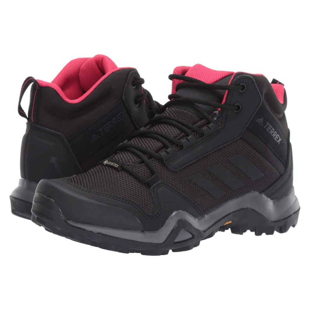 アディダス adidas Outdoor レディース ハイキング・登山 シューズ・靴【Terrex AX3 Mid GTX】Carbon/Black/Active Pink