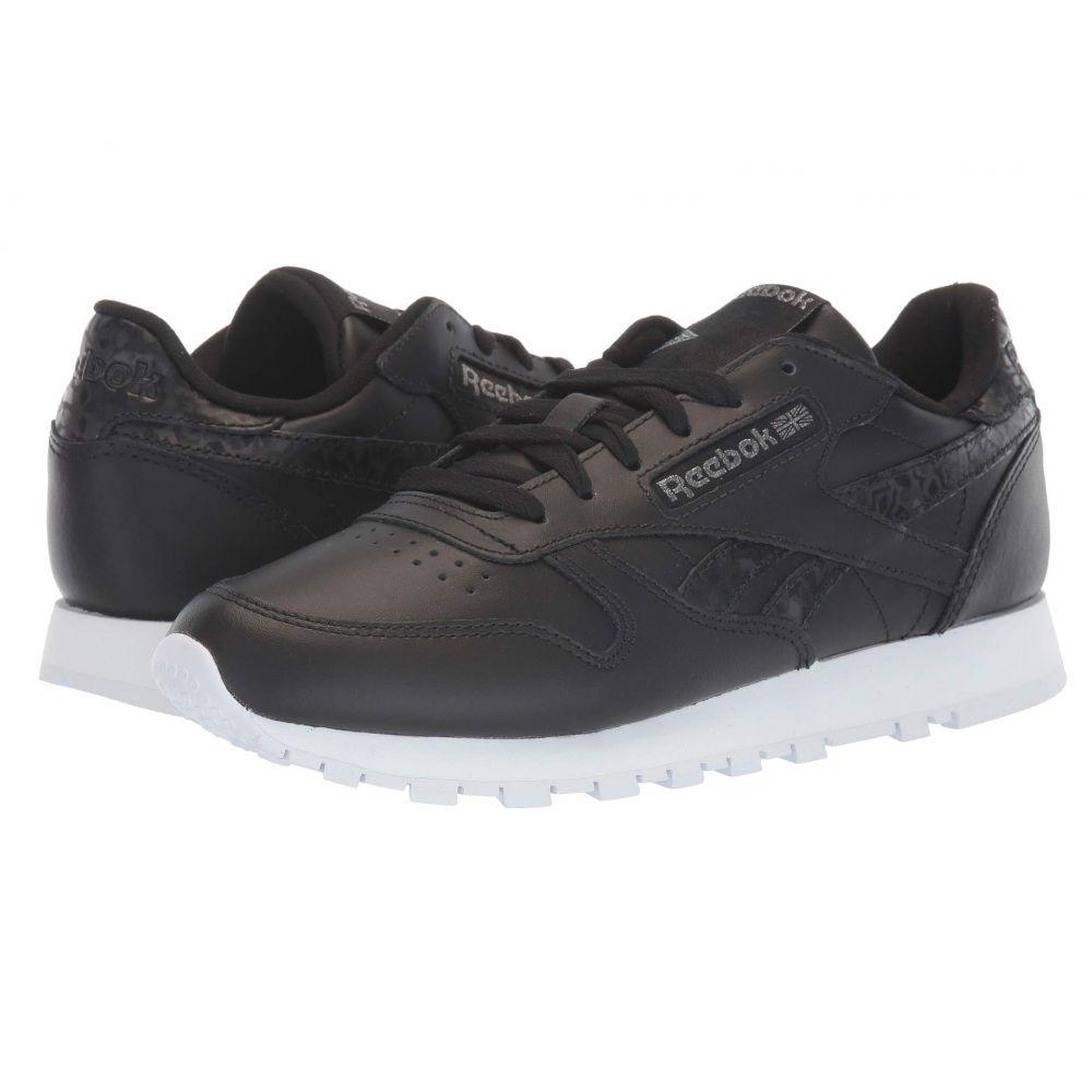 リーボック Reebok Lifestyle レディース スニーカー シューズ・靴【CL Leather】Black/Black/White