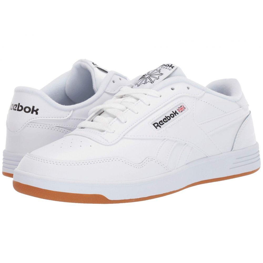 リーボック Reebok メンズ スニーカー シューズ・靴【Club Memt】White/Black/Reebok Rubber Gum