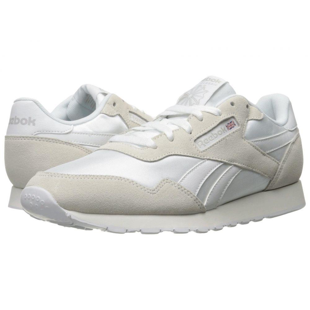 リーボック Reebok メンズ スニーカー シューズ・靴【Royal Nylon】White/White/Steel