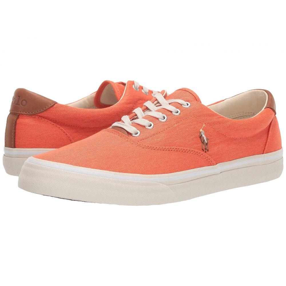 ラルフ ローレン Polo Ralph Lauren メンズ スニーカー シューズ・靴【Thorton】College Orange Washed Twill