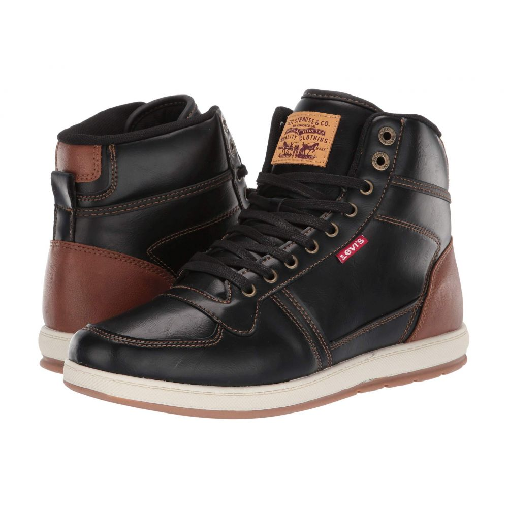 リーバイス Levi's Shoes メンズ スニーカー シューズ・靴【Stanton Brunish】Black/Tan