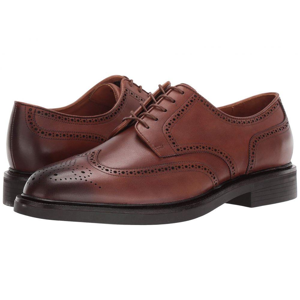 ラルフ ローレン Polo Ralph Lauren メンズ 革靴・ビジネスシューズ ウイングチップ シューズ・靴【Asher Wing Tip】Snuff Calf Leather