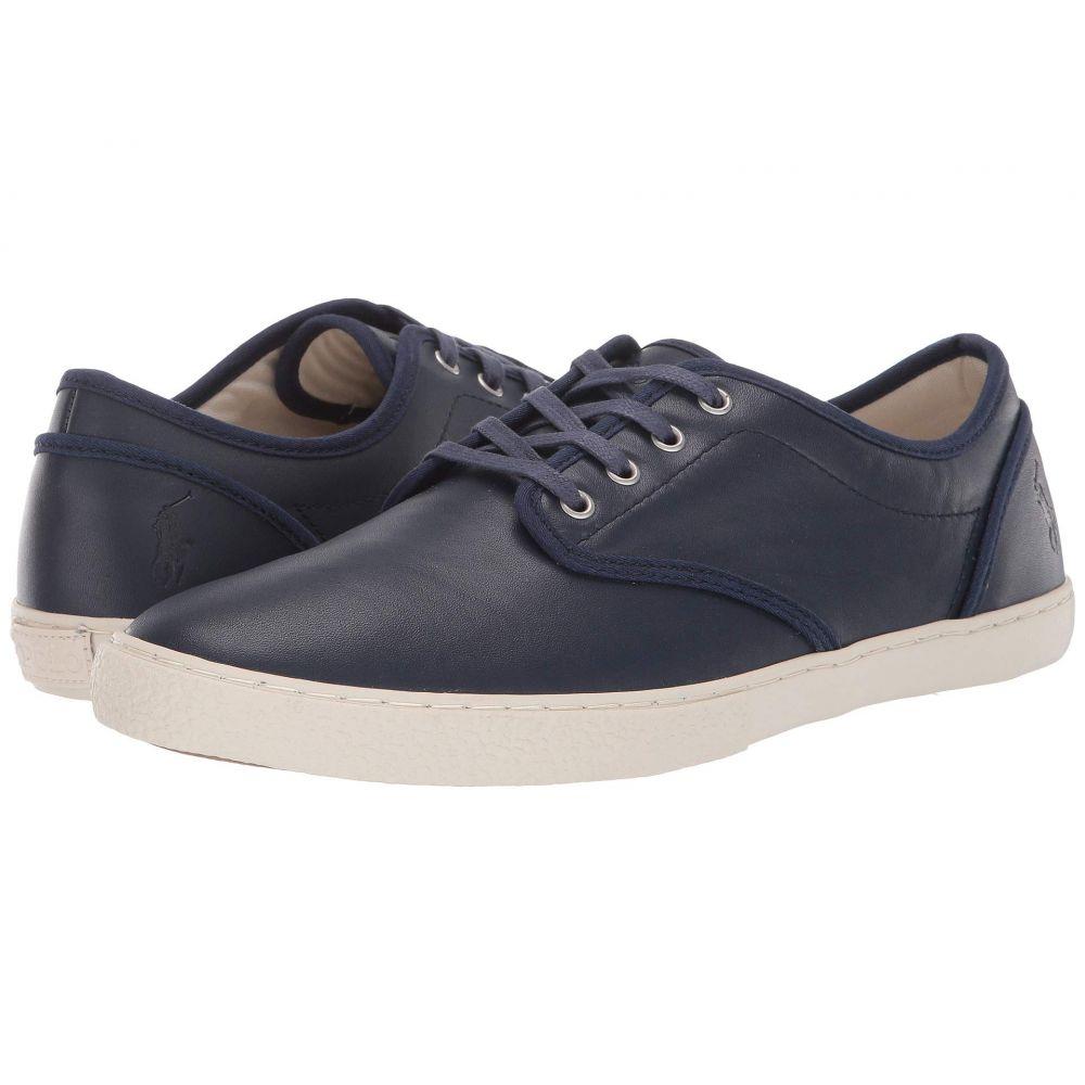 ラルフ ローレン Polo Ralph Lauren メンズ スニーカー シューズ・靴【Ethan Lace】Newport Navy Smooth Calf