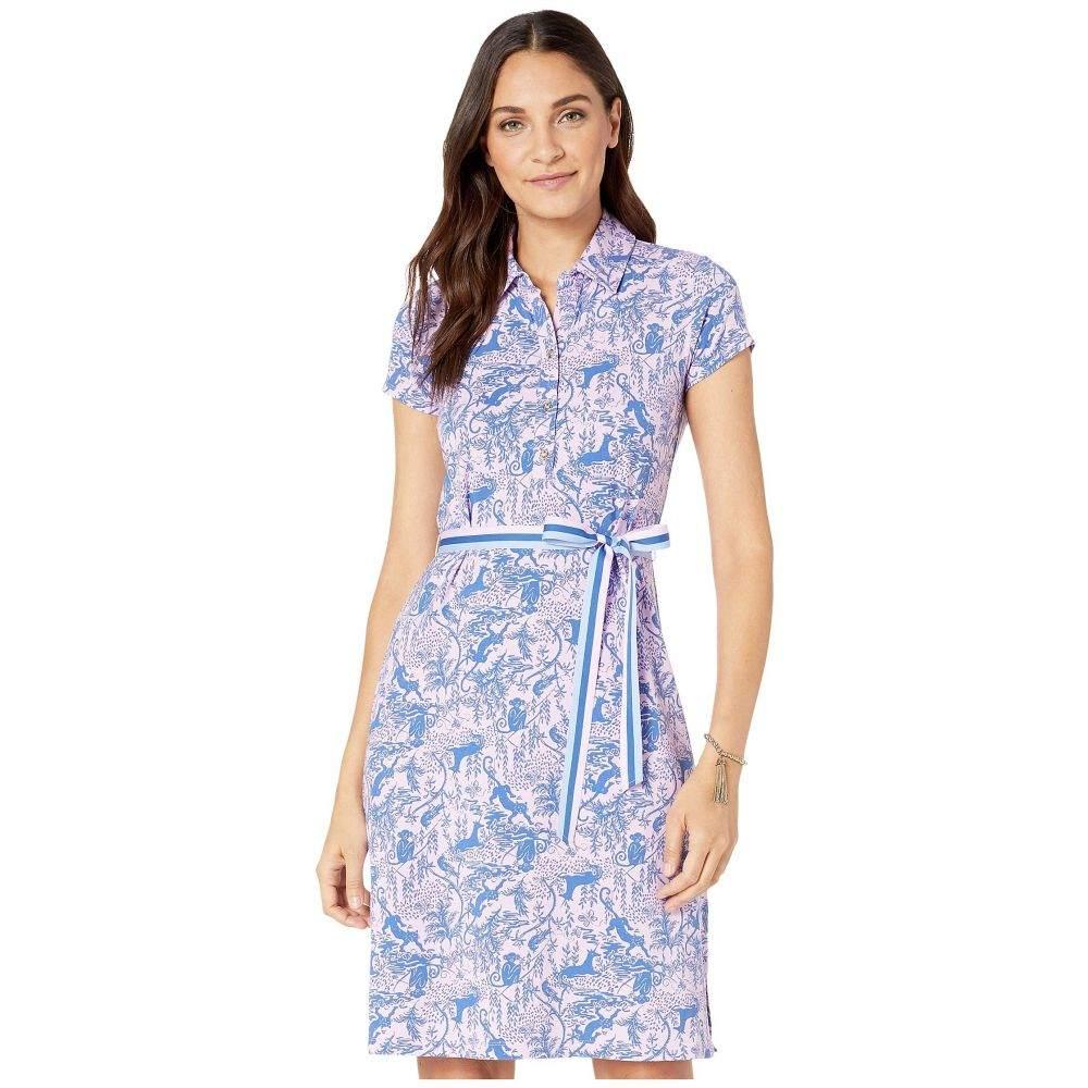 リリーピュリッツァー Lilly Pulitzer レディース ワンピース ワンピース・ドレス【Renee Dress】Lilac Freesia Safari As I Can See
