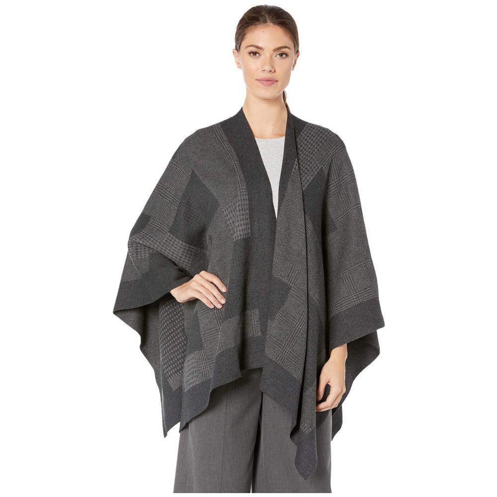 ラルフ ローレン LAUREN Ralph Lauren レディース ポンチョ アウター【Knitted Shawl】Grey Multi
