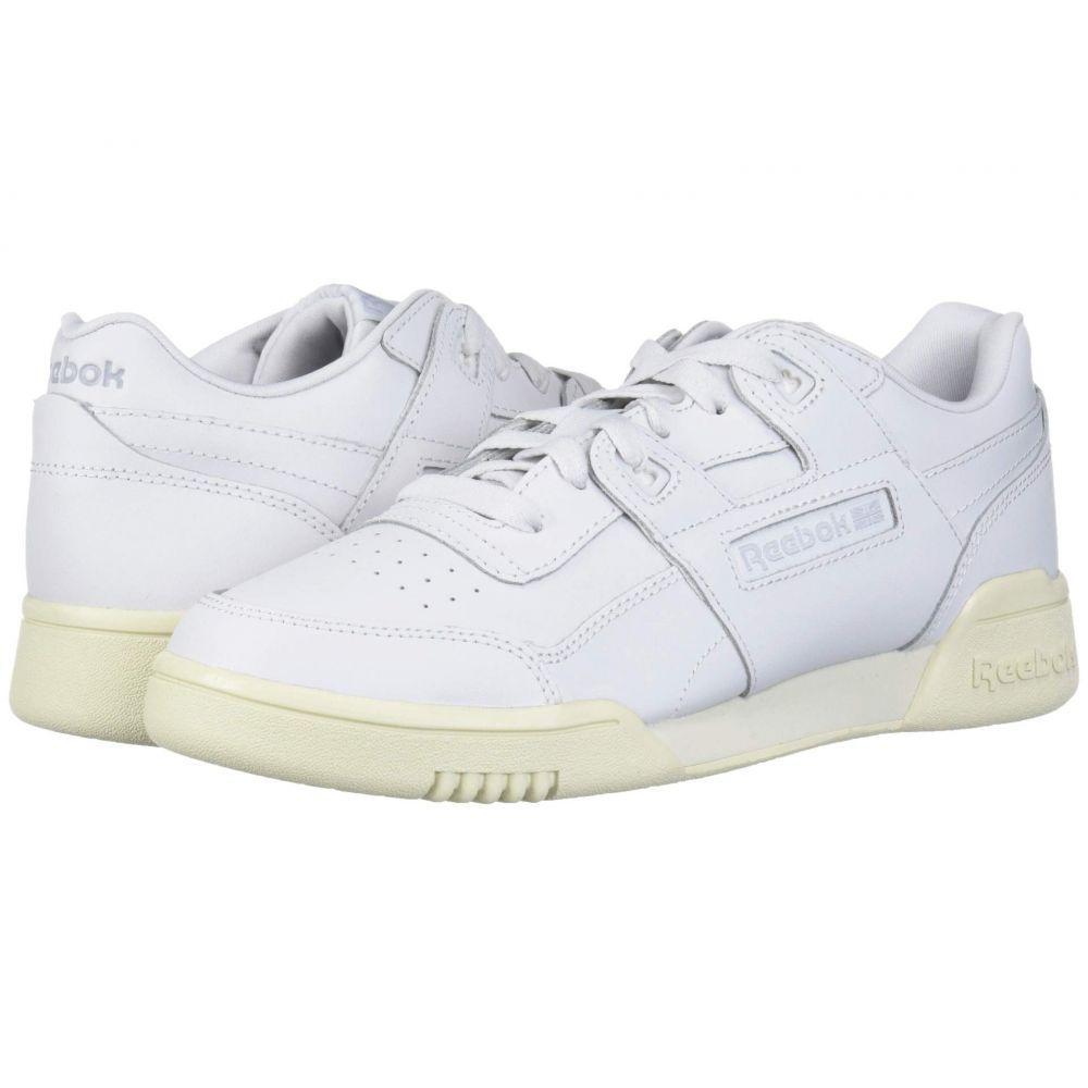 リーボック Reebok レディース スニーカー シューズ・靴【Workout Lo Plus】Porcelain/Paper White/Grey