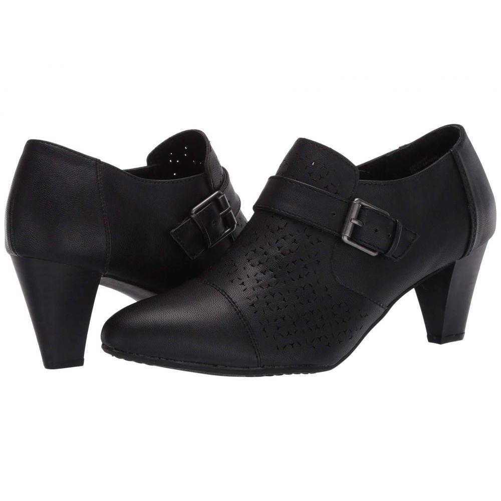 リアルト Rialto レディース ブーツ シューズ・靴【Sairah】Black Smooth