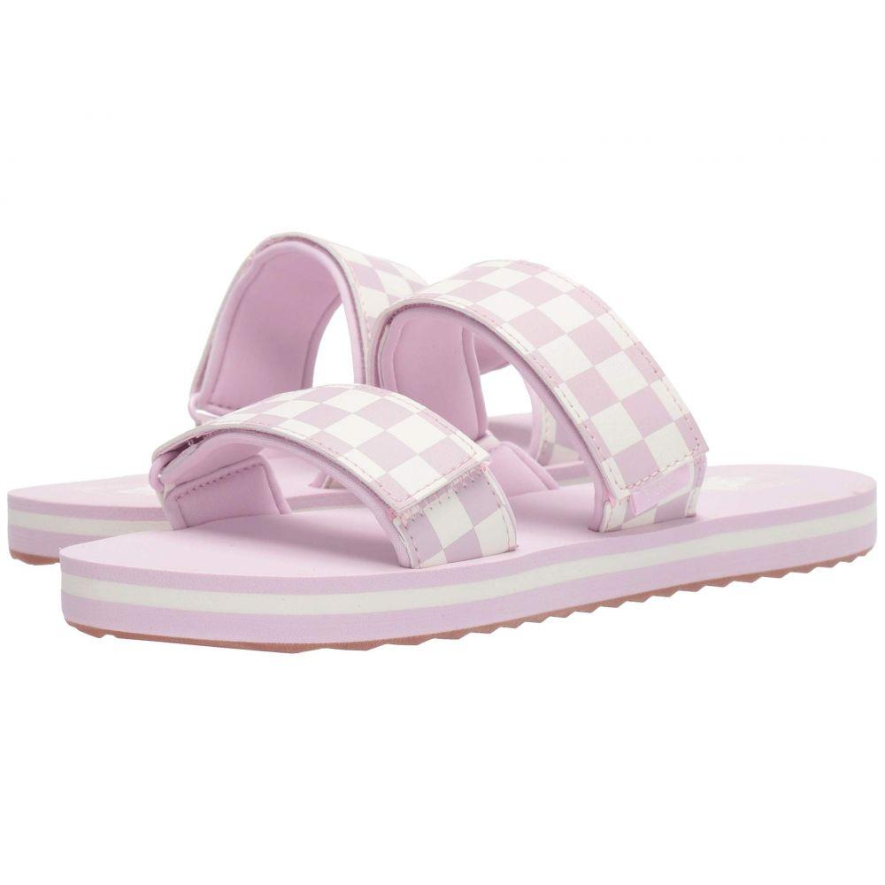 ヴァンズ Vans レディース サンダル・ミュール シューズ・靴【Cayucas Slide】Lilac Snow/Marshmallow