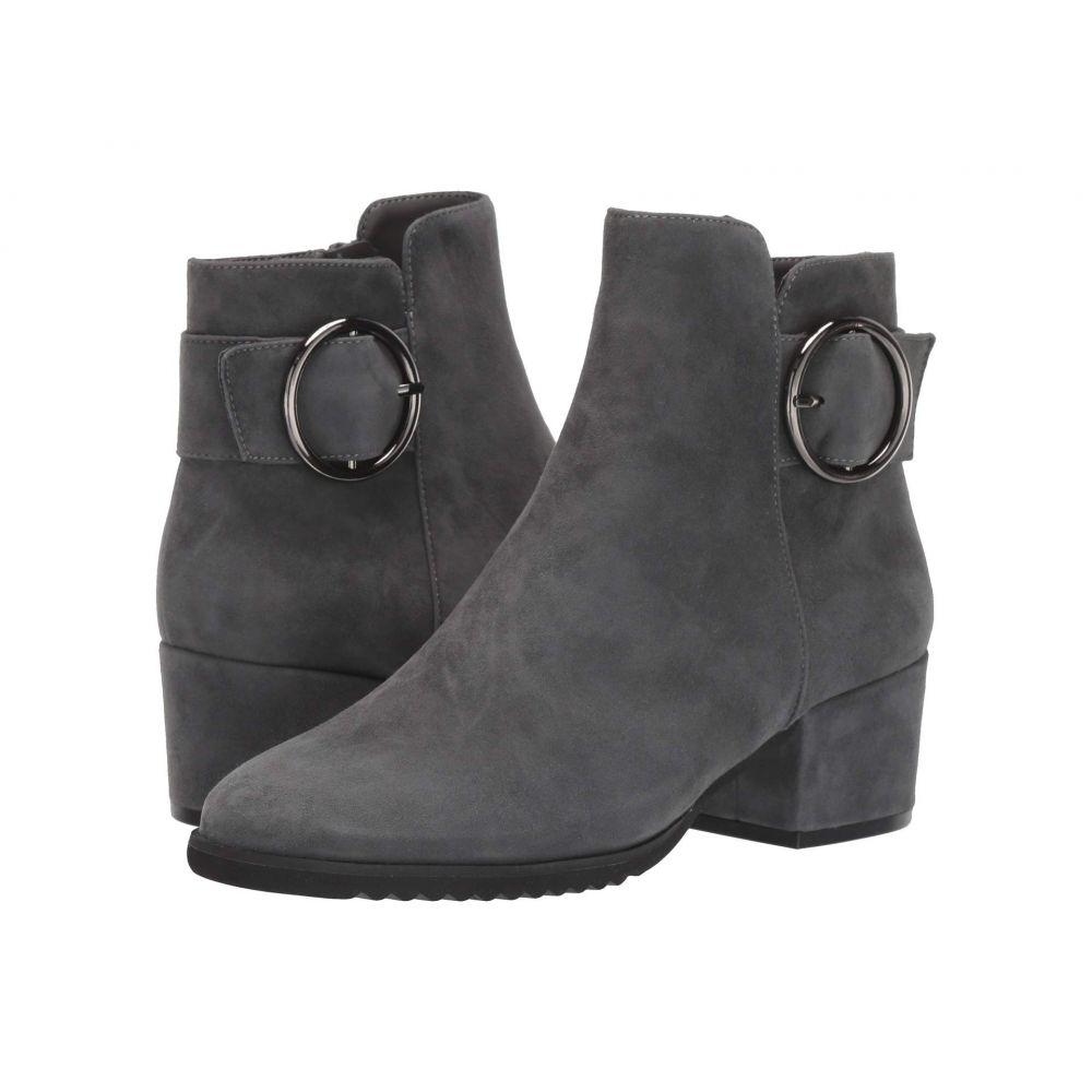 ヴァネリ Vaneli レディース ブーツ シューズ・靴【Fidela】Carbon Grey Suede