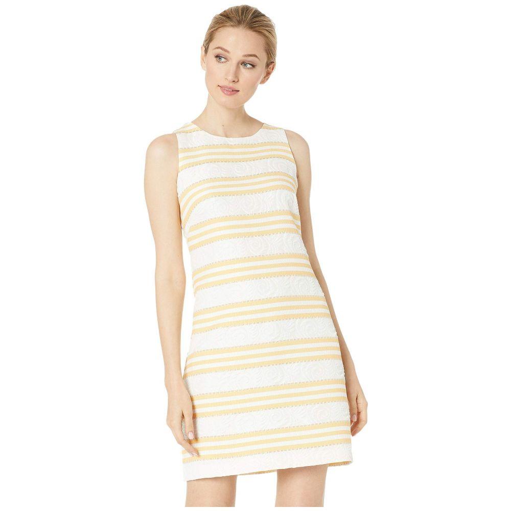 ヴィンス カムート Vince Camuto レディース ワンピース シフトドレス ノースリーブ ワンピース・ドレス【Sleeveless Shift Dress】Yellow/White