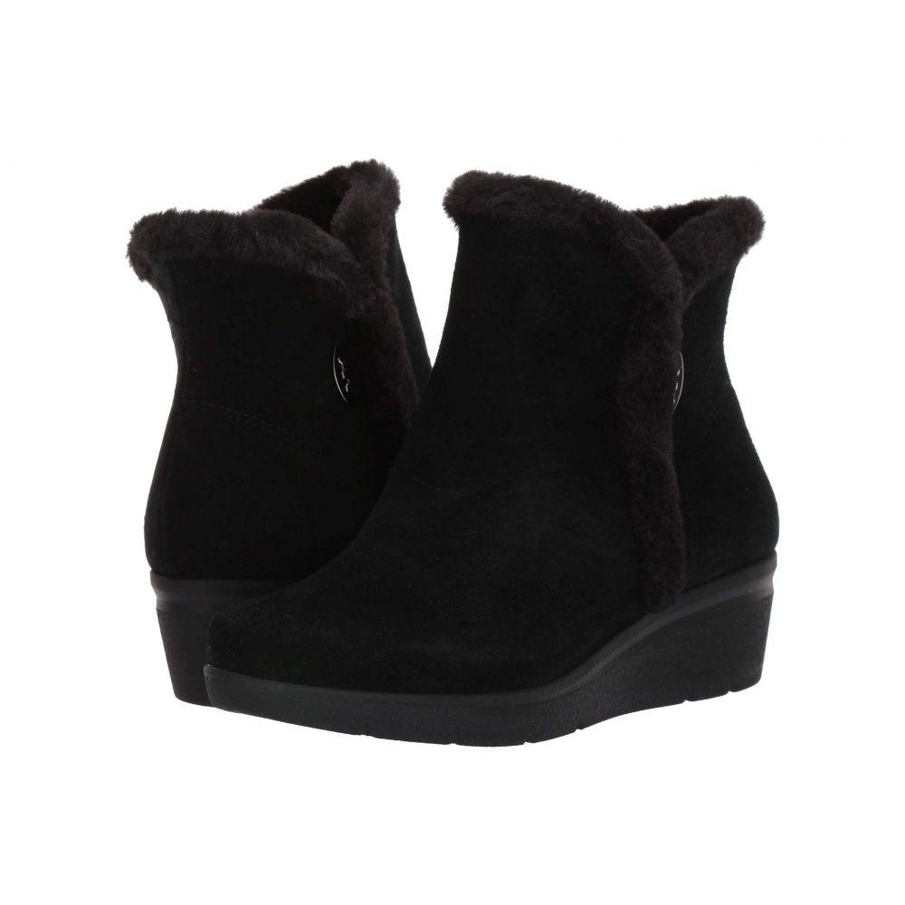 アン クライン Anne Klein レディース ブーツ シューズ・靴【Inner】Black Suede