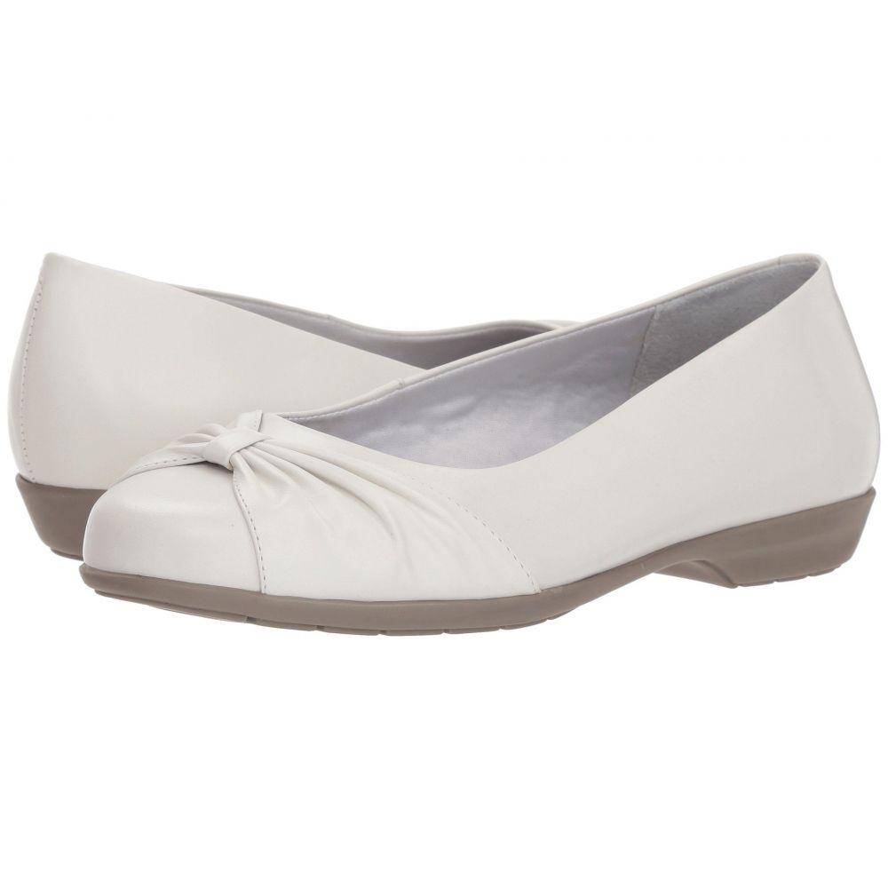 ウォーキング クレードル Walking Cradles レディース スリッポン・フラット シューズ・靴【Fall】White Leather