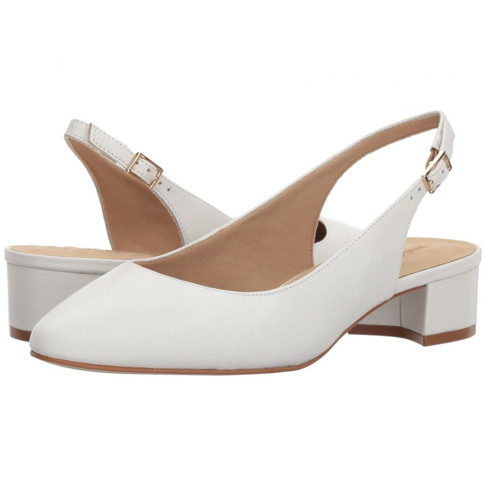 ウォーキング クレードル Walking Cradles レディース パンプス シューズ・靴【Hazel】White Leather