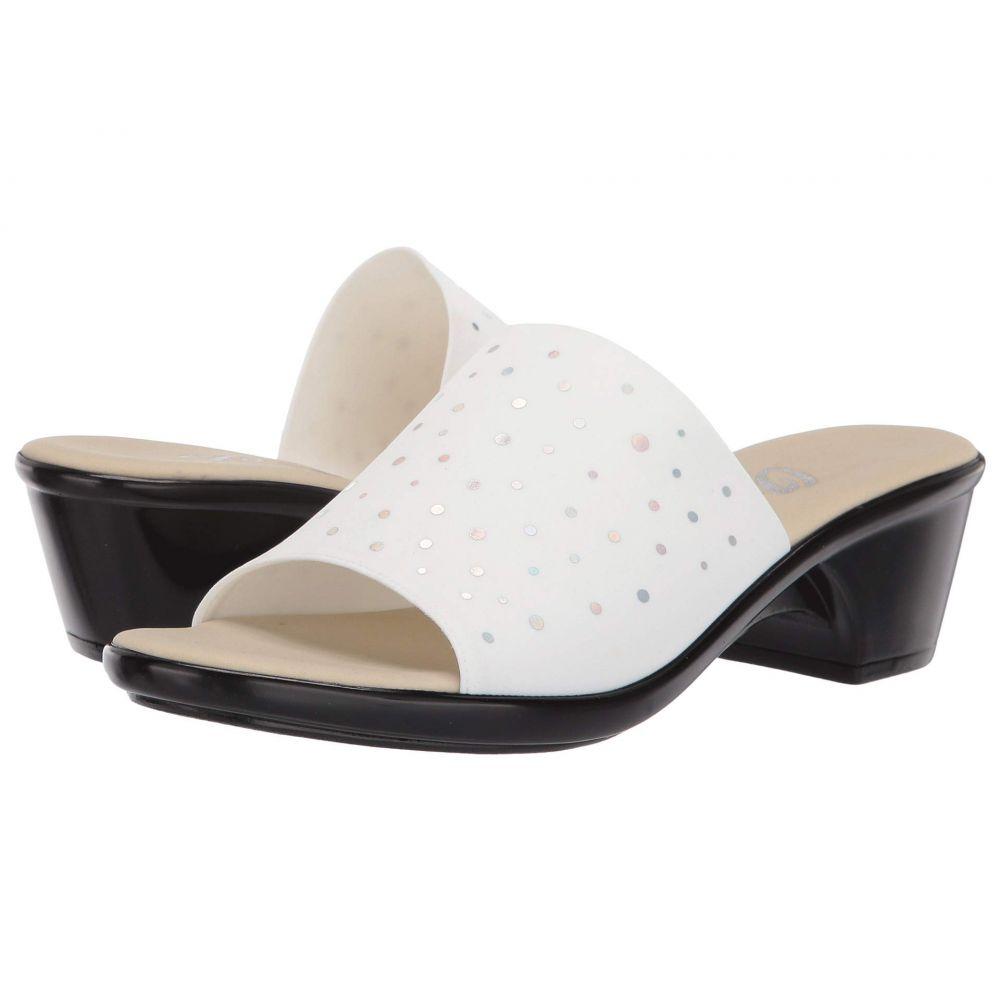オネックス Onex レディース サンダル・ミュール シューズ・靴【Space】White