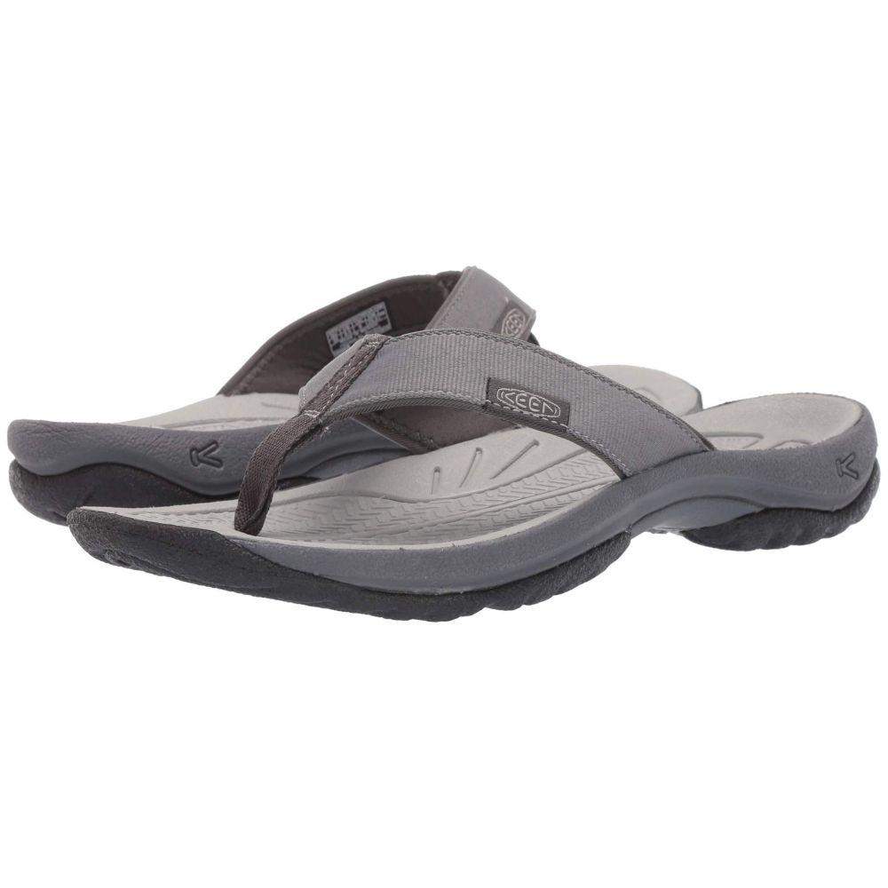 キーン Keen レディース ビーチサンダル シューズ・靴【Kona Flip】Steel Grey/Magnet