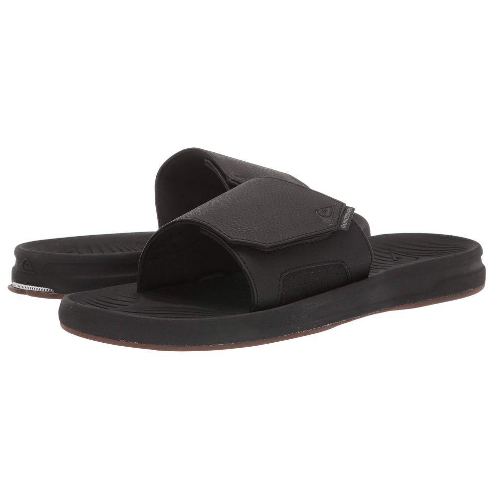 クイックシルバー Quiksilver メンズ サンダル シューズ・靴【Travel Oasis Slide】Black/Black/Brown