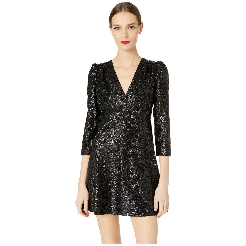 ケイト スペード Kate Spade New York レディース ワンピース ワンピース・ドレス【Glitzy Ritzy Sequin Dress】Black