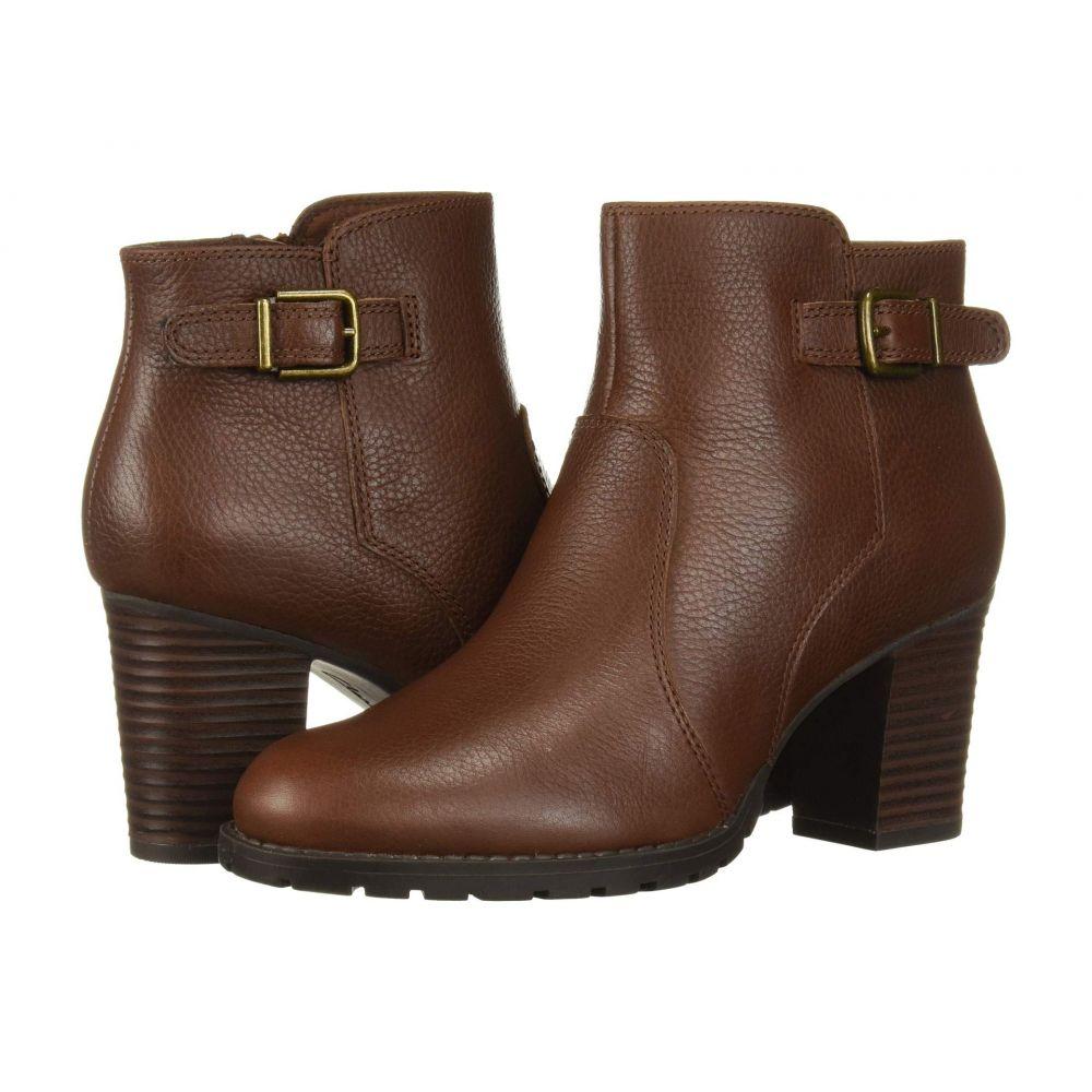 クラークス Clarks レディース ブーツ シューズ・靴【Verona Gleam】British Tan Leather