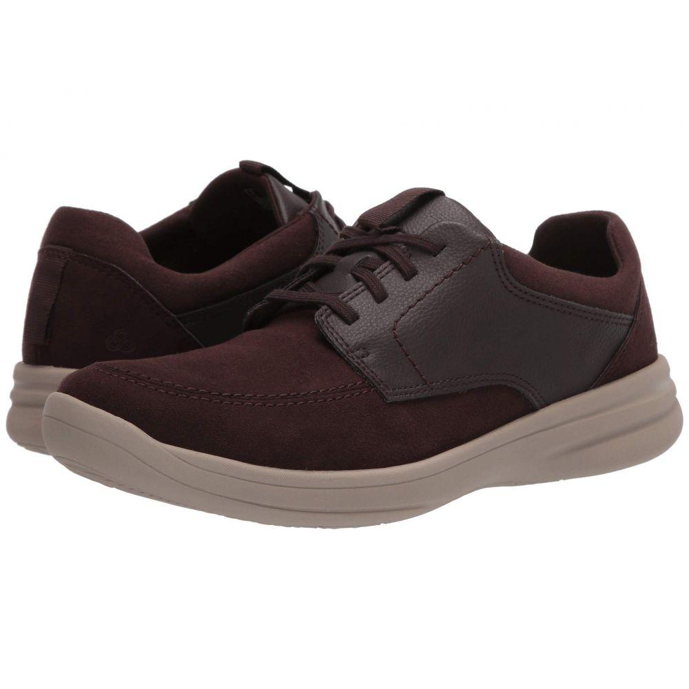 クラークス Clarks メンズ スニーカー シューズ・靴【Step Stroll Lace】Brown Leather