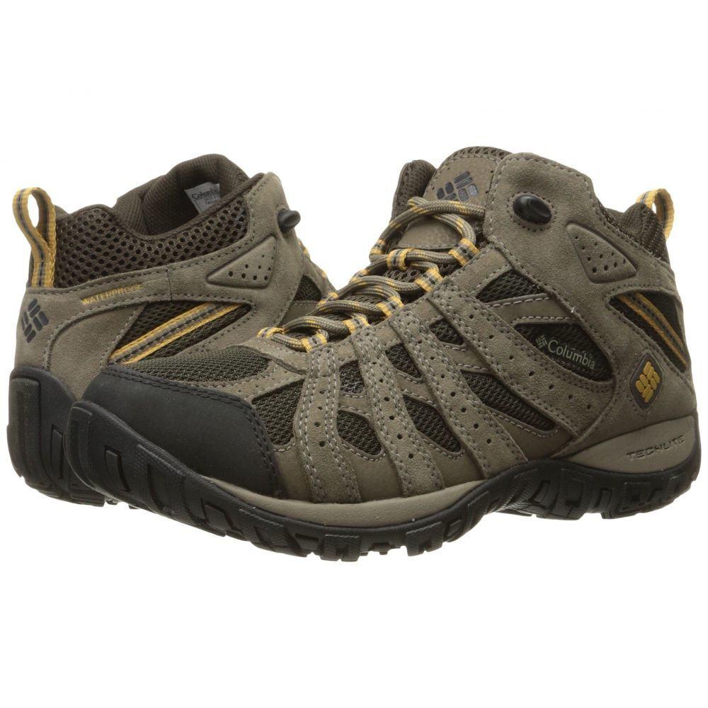 コロンビア メンズ ハイキング・登山 シューズ・靴 Cordovan/Dark Banana 【サイズ交換無料】 コロンビア Columbia メンズ ハイキング・登山 シューズ・靴【Redmond Mid Waterproof】Cordovan/Dark Banana