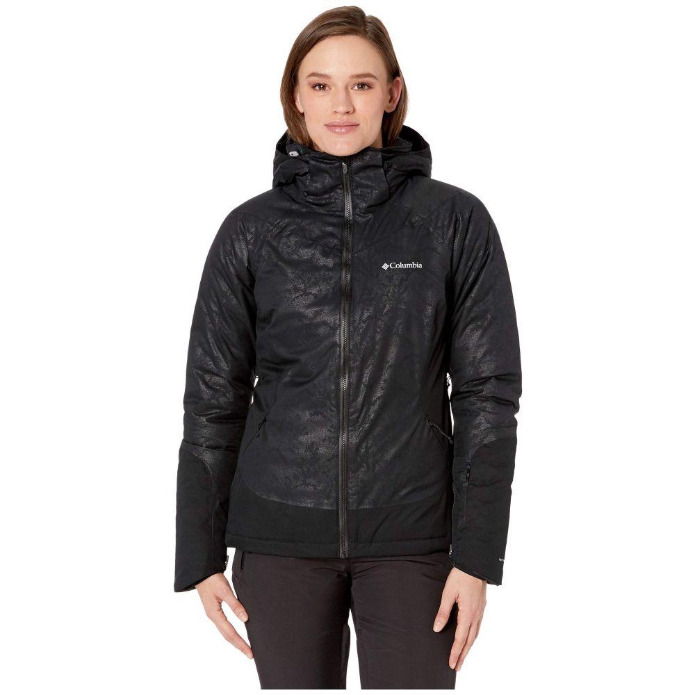 コロンビア Columbia レディース スキー・スノーボード ジャケット アウター【Veloca Vixen Jacket】Black/Slopes Emboss
