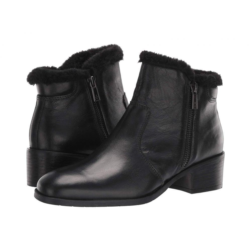 ケネス コール Kenneth Cole Reaction レディース ブーツ シューズ・靴【Salt Zip Cozy】Black Leather