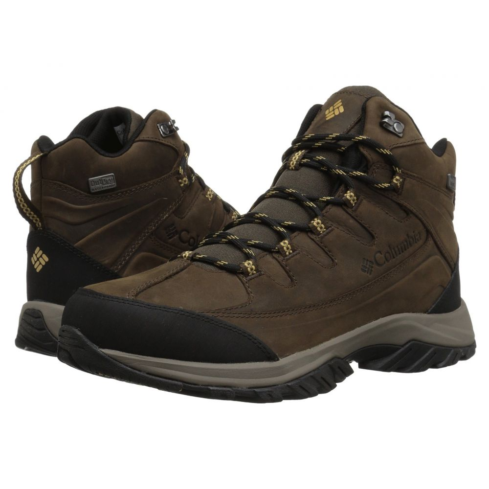 コロンビア メンズ ハイキング・登山 シューズ・靴 Mud/Curry 【サイズ交換無料】 コロンビア Columbia メンズ ハイキング・登山 シューズ・靴【Terrebone II Mid Outdry】Mud/Curry