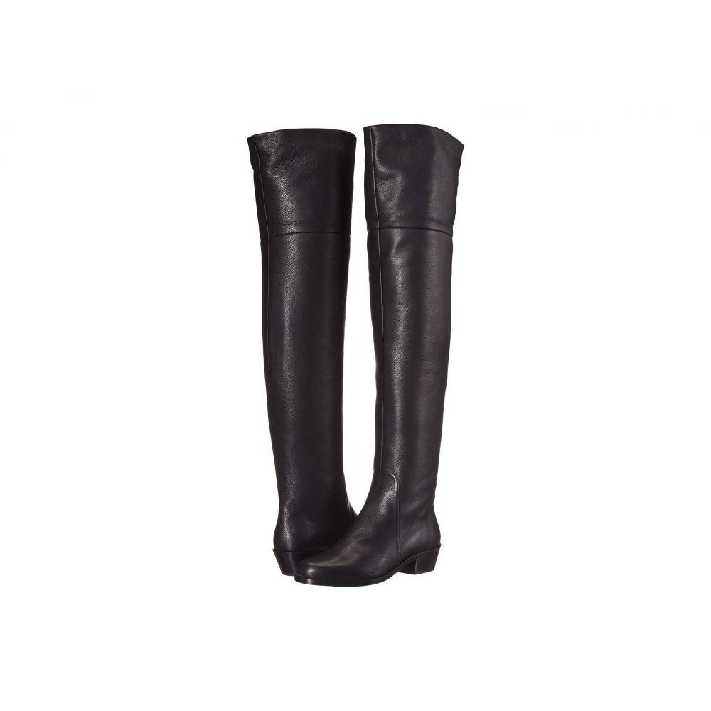 サルヴァトーレ フェラガモ Salvatore Ferragamo レディース ブーツ シューズ・靴【Bucaneve 40】Black Leather