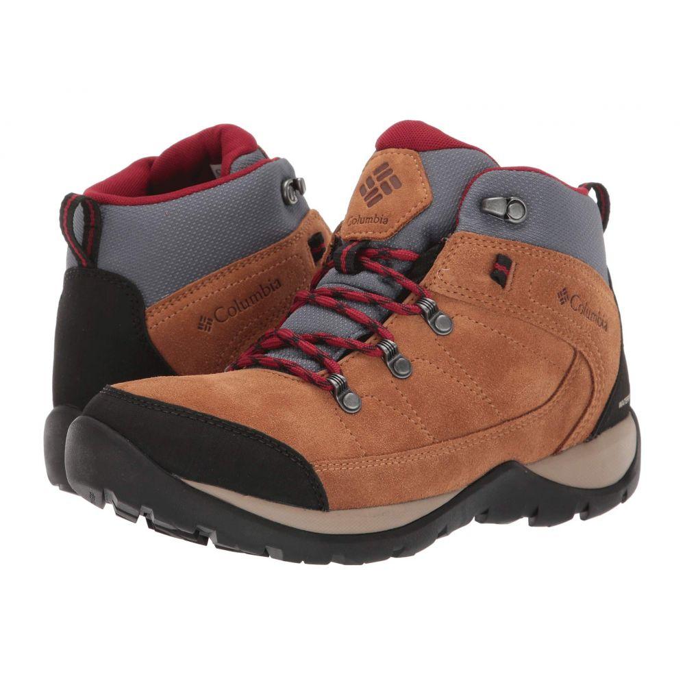 コロンビア Columbia レディース ハイキング・登山 シューズ・靴【Fire Venture S II Mid Waterproof】Elk/Beet