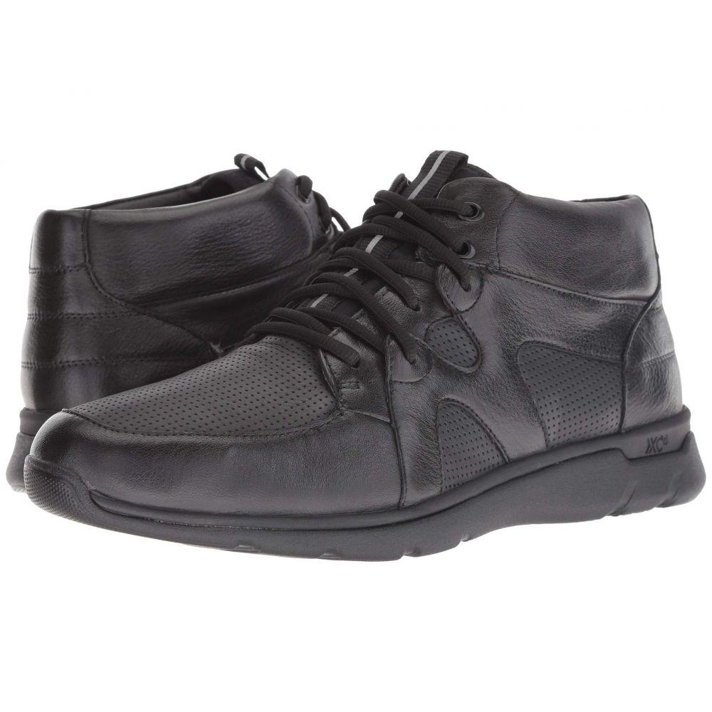 ジョンストン&マーフィー Johnston & Murphy メンズ スニーカー ハイカット シューズ・靴【Waterproof Prentiss XC4(R) High Top Sneaker】Black Waterproof Full Grain