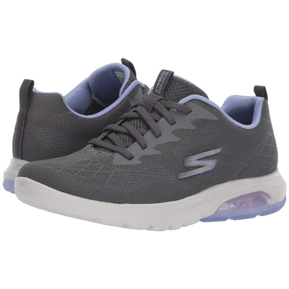 スケッチャーズ SKECHERS Performance レディース スニーカー シューズ・靴【Go Walk Air - 16098】Charcoal/Lavender