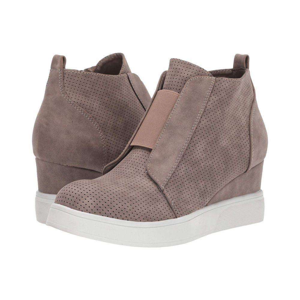 ジュルネ コレクション Journee Collection レディース スニーカー シューズ・靴【Clara】Taupe