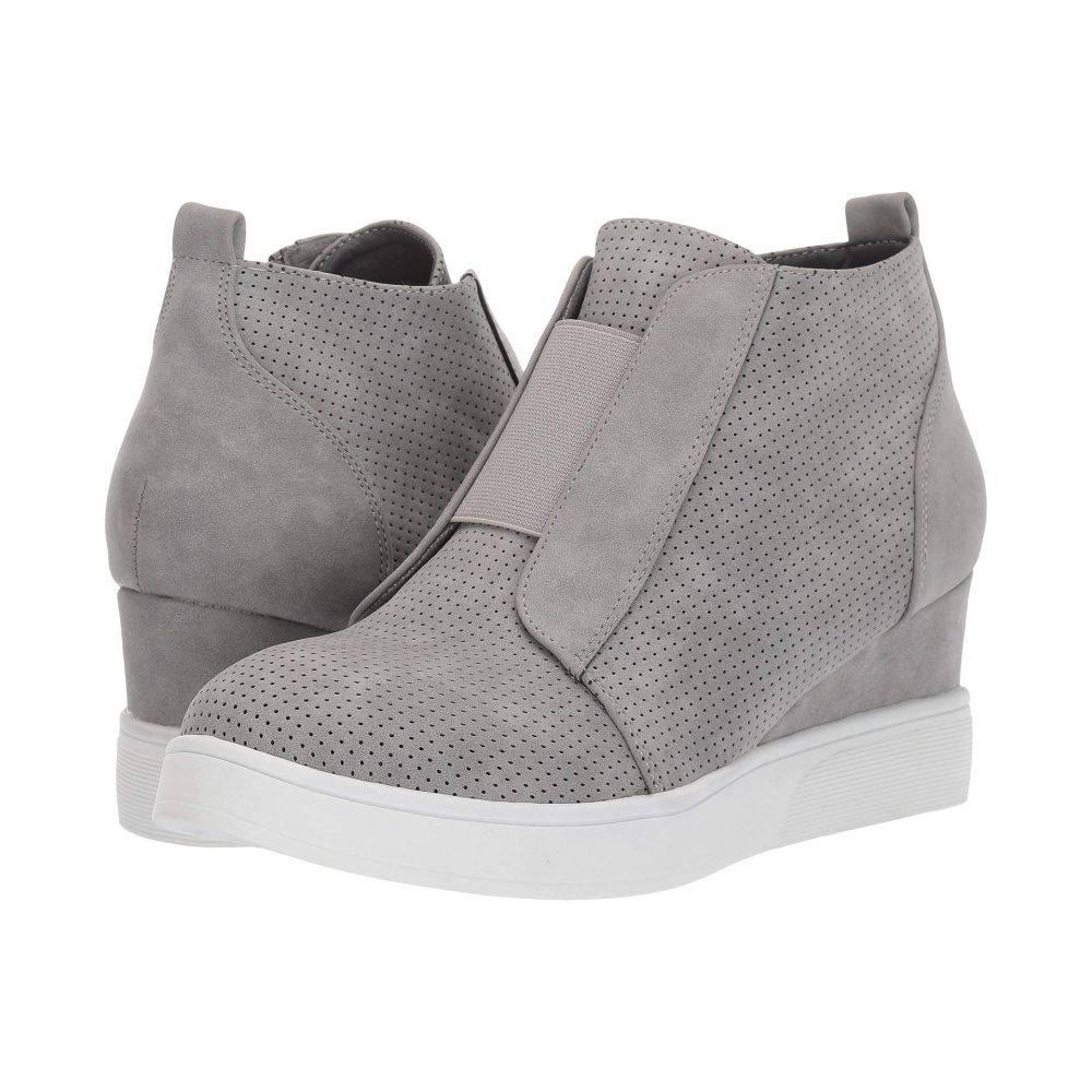 ジュルネ コレクション Journee Collection レディース スニーカー シューズ・靴【Clara】Grey