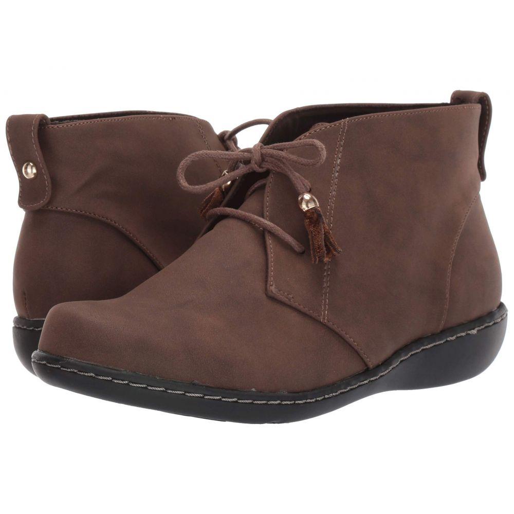 ソフトスタイル Soft Style レディース ブーツ シューズ・靴【Jinger】Dark Brown