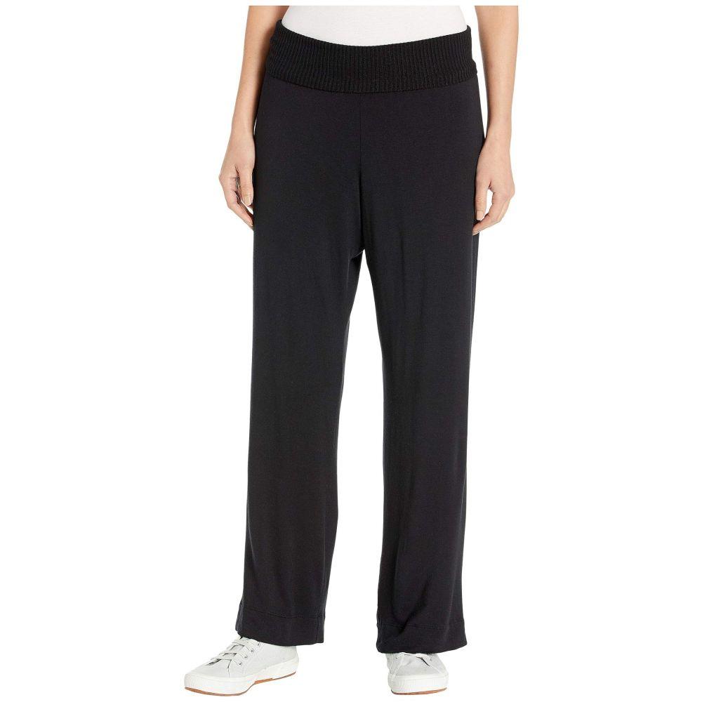 スプレンディッド Splendid レディース ボトムス・パンツ ワイドパンツ【Super Soft Rib Knit Wide Leg Pants】Black