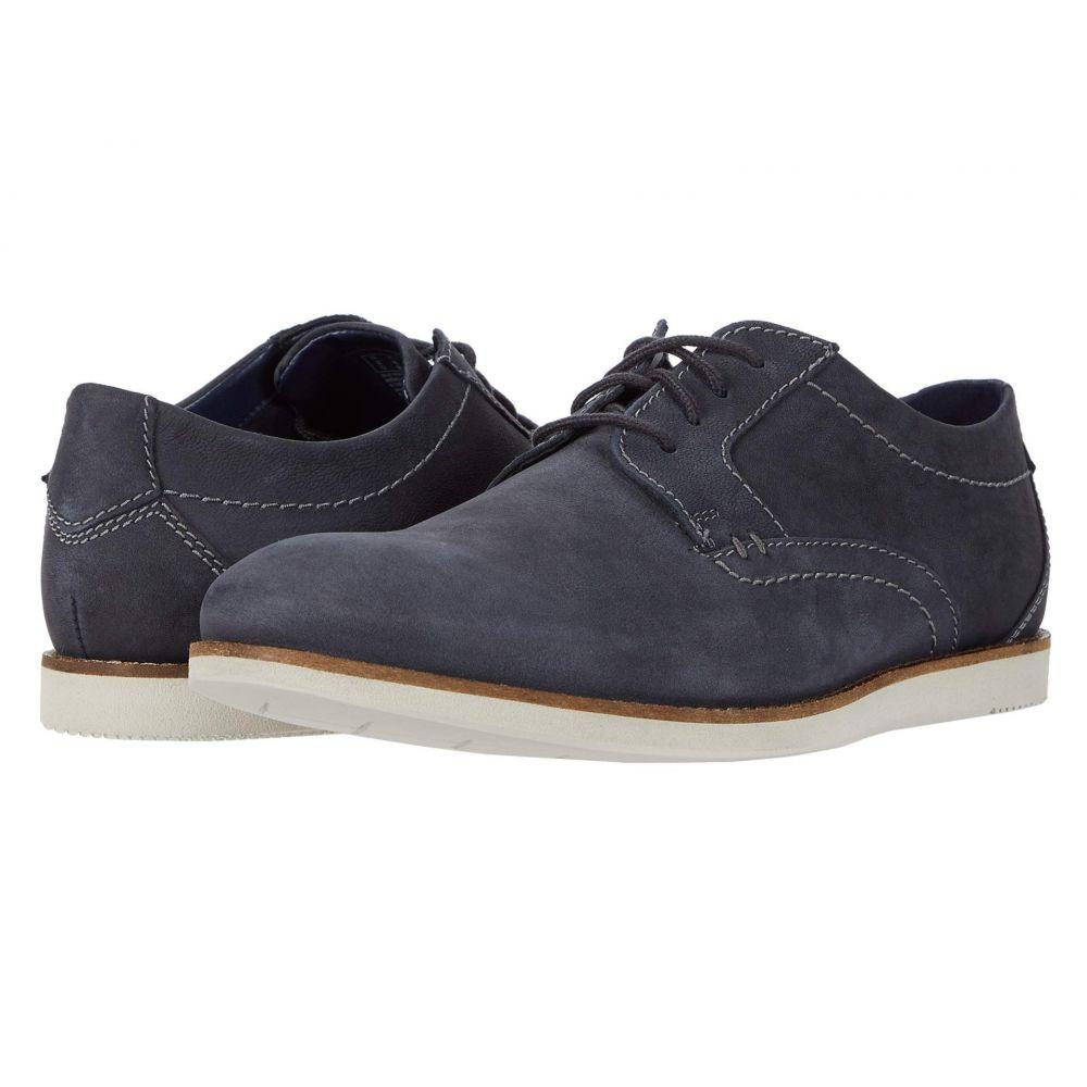 クラークス Clarks メンズ 革靴・ビジネスシューズ シューズ・靴【Raharto Plain】Navy Nubuck