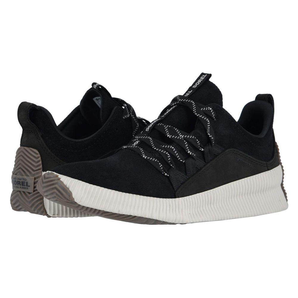 ソレル SOREL レディース スニーカー シューズ・靴【Out N About Plus Sneaker】Black Suede