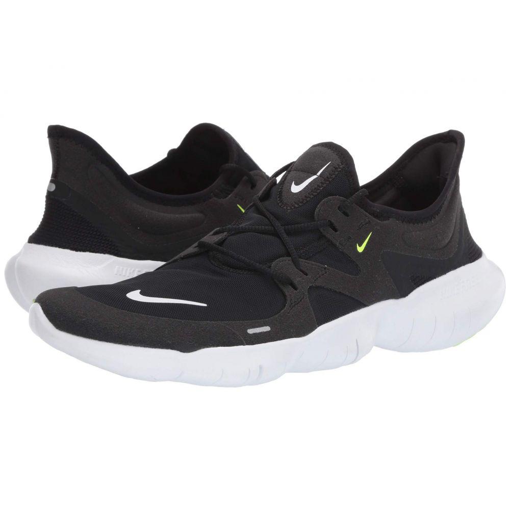 ナイキ Nike メンズ ランニング・ウォーキング シューズ・靴【Free RN 5.0】Black/White/Anthracite/Volt