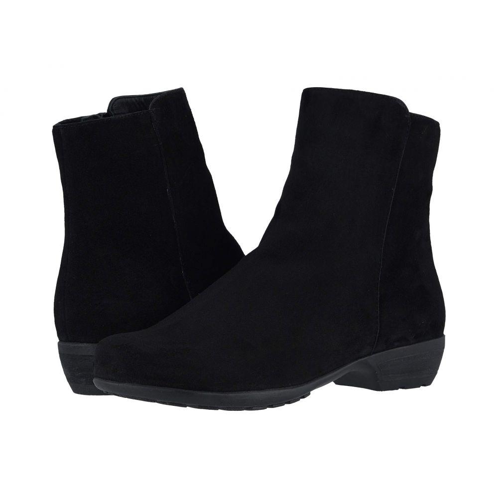 ウォーキング クレードル Walking Cradles レディース ブーツ シューズ・靴【Elsie】Black Suede