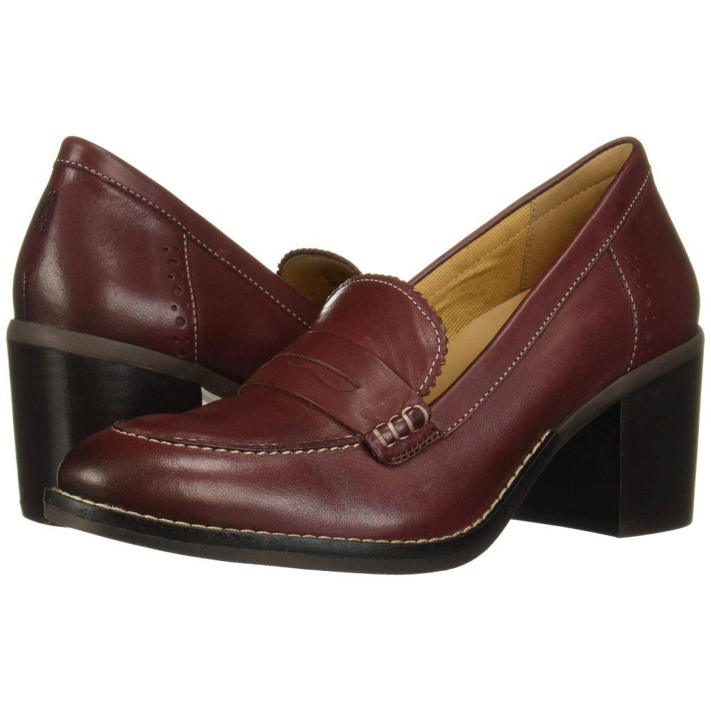 ハッシュパピー Hush Puppies レディース ローファー・オックスフォード シューズ・靴【Hannah Penny Mocc】Cordovan Leather